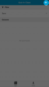 Create Quiz Button